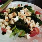 焼肉酒家 牛さくら - 【和風豆腐サラダ】(焼肉コース 4000円)
