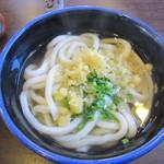 手打ちうどん 咲楽 - 料理写真:茹で置きのかけうどん