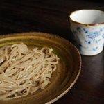食菜 かま田 - 料理写真:ざるそば 600円