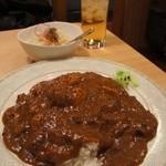 カレー道場 黒帯 - チャー角カレーセット