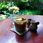 手ぬぐいカフェ 一花屋 - アイスコーヒー