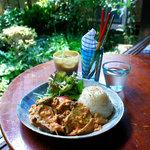 手ぬぐいカフェ 一花屋 - 夏野菜カレー