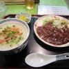たない粥 - 料理写真:半ジャージャー麺 + 3分の2粥(840円)