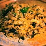 寧々家 - 高菜としらすの炒飯
