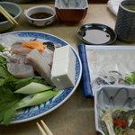 ぼて - てっちり(お昼限定2人前)¥4500