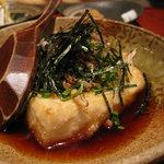竹富島 - ジーマミ豆腐の揚げだし