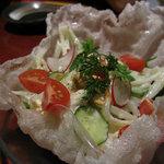 竹富島 - パパヤー(パパイヤ)サラダ