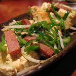 竹富島 - 豆腐チャンプルー