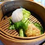 シューシノア - 麺ランチ付け合せ