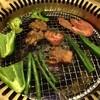 焼肉五苑 - 料理写真:野菜焼いてます