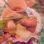 11218508 - 蟹肉&海鮮揚げ春巻き