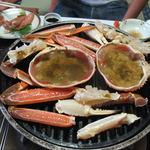 潮音の宿 涛平 - 料理写真:焼き蟹