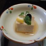 潮音の宿 涛平 - 料理写真:かに豆腐