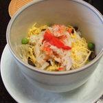 潮音の宿 涛平 - 料理写真:かにちらし