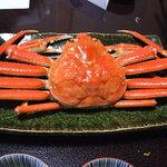 潮音の宿 涛平 - 料理写真:ゆで蟹