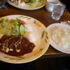 メルヘン - 料理写真:ハンバーグステーキランチ