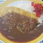 フードコート レストハウス - 料理写真:豚ロースかつカレー