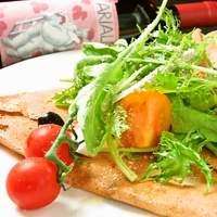 ガイーナ - 無農薬野菜いっぱいのそば粉ガレット!