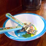 らーめんHAGGY - 子供用の食器。