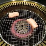 焼肉 蔵人 - サムギョプサル焼いてみました