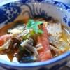 ラホツ - 料理写真:トムヤムクンにゅうめん