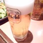 わたみん家 - 生ビール