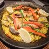 アルベロ - 料理写真:「車海老とアサリの雑穀米パエリア」(2~3人前2400円)