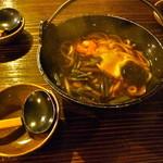 土蔵食亭 - 山菜うどん