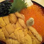北の漁場 - うに・イクラ丼(2,980円)