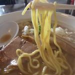 麺や 高野 - 豚骨魚介醤油らぁ麺・麺