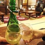六左衛門 - 無添加 井筒 生にごりワイン(白)