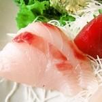 おお田 - 刺身膳:黒鯛