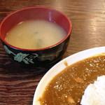 居酒屋 梵蔵 - タップリの味噌汁が嬉しい
