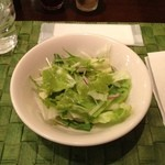 モンタルチーノ - ココットカレーに付属のサラダ
