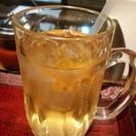 ニャーヴェトナム・フォー麺 - アイス蓮茶
