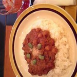OOD - ひよこ豆のカレー