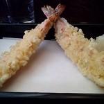 神田まつや - 料理写真:大振りな海老天