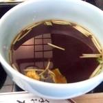 神田まつや - 料理写真:温かいツユも選べます