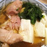 大衆割烹 三州屋 - 鳥豆腐