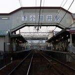 カレーハウス CoCo壱番屋 西枇杷島店 - 目的の駅にもう直ぐ到着です。 岩倉行きに乗って15分ぐらいだったでしょうか。 意外と近いですね。