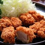 椿 - 料理写真:あけび(ヒレカツ)