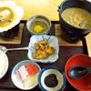 津軽旨米屋 - 料理写真:貝焼き味噌とけの汁定食