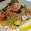 パスタマンジャーレ ザザ - 料理写真:サラダスパゲッティ シーフード
