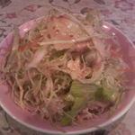 インドカレー カマナ - 付け合わせのサラダ