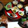 山里波 - 料理写真:お刺身・小鉢