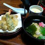 山里波 - 天ぷら・茶碗蒸・御吸物