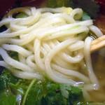 あっさりうどん - 「元祖あっさりうどん」細めの麺