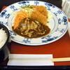 洋食 浅草軒 - 料理写真:ビーフシチュー&カキフライセット(1,180円)