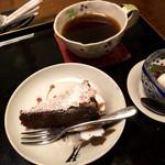 古材の森 - デザートまでお膳にのってきました。