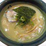 麺匠 呉屋 - 汐そば(夜限定):680円
